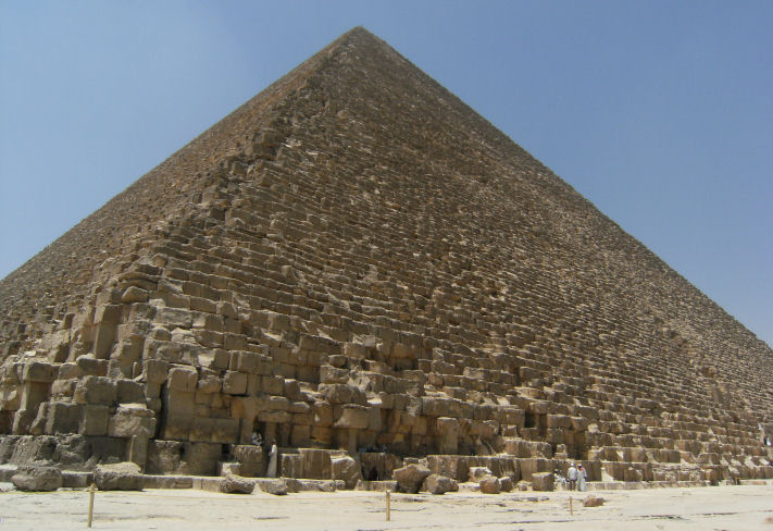 a research on the how the great pyramid of giza was built
