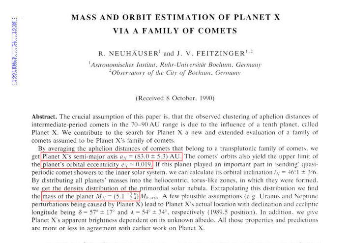 NIBIRU News ~ Planet X - Zecharia Sitchin Critically Evaluated plus MORE Neuhauser-Feitzinger