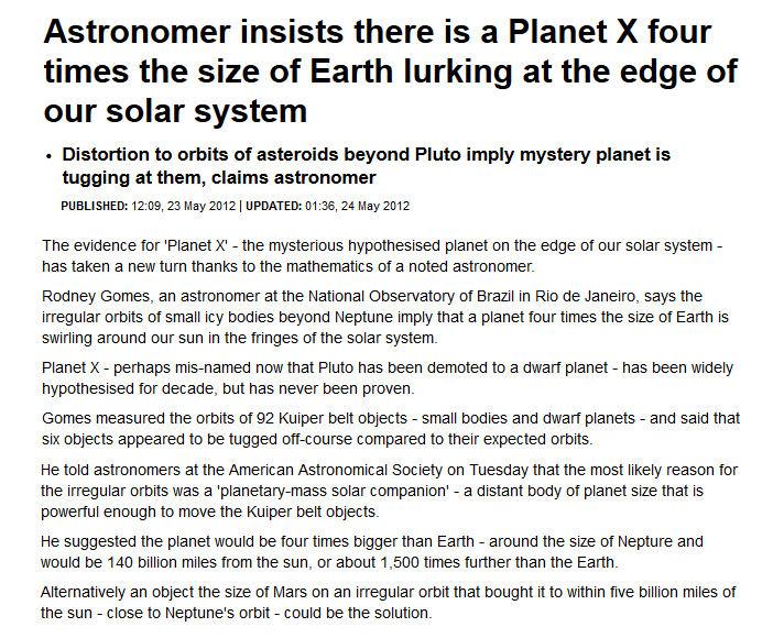 NIBIRU News ~ Planet X - Zecharia Sitchin Critically Evaluated plus MORE Rodney-gomes-Astronomer