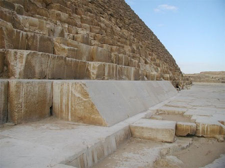 The Great Pyramid - 144000 Casing Stones